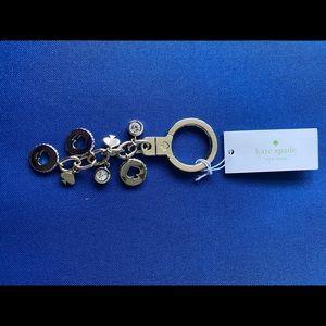 Kate Spade Logo Keychain Brand New